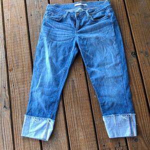 Joe's JeansMavin Cuffed  Capris-27 waist